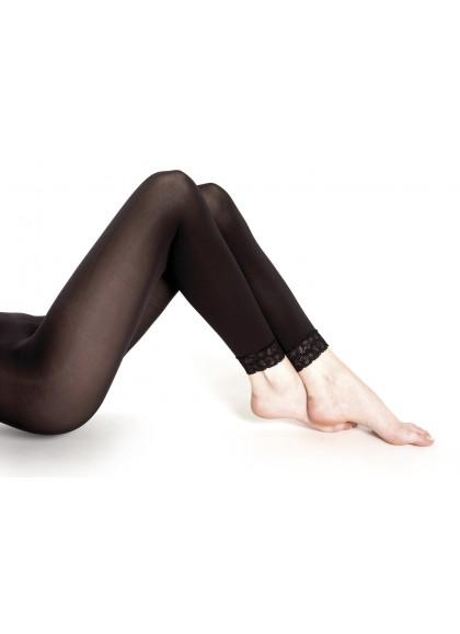 Caleçon sans-pied dentelle